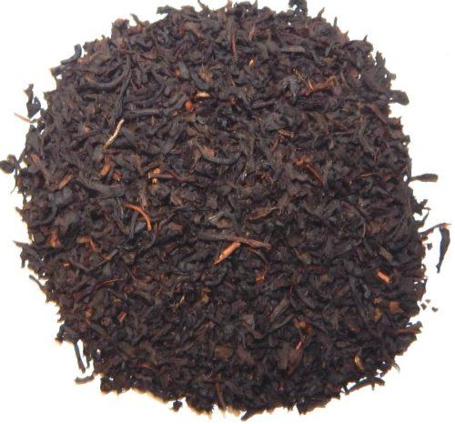 Sahne aromatisierter Schwarztee